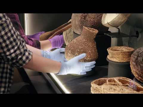 Arizona State Museum-Basket Exhibit
