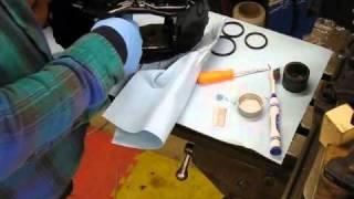 Rebuilding brake calipers