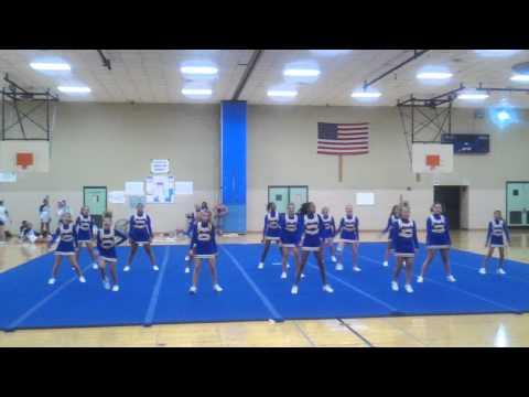 Pierre Moran Middle School cheer 2012