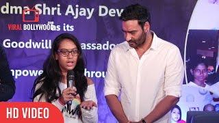 Nysa Devgan Full Speech | Smile Foundation New Campaign Launch