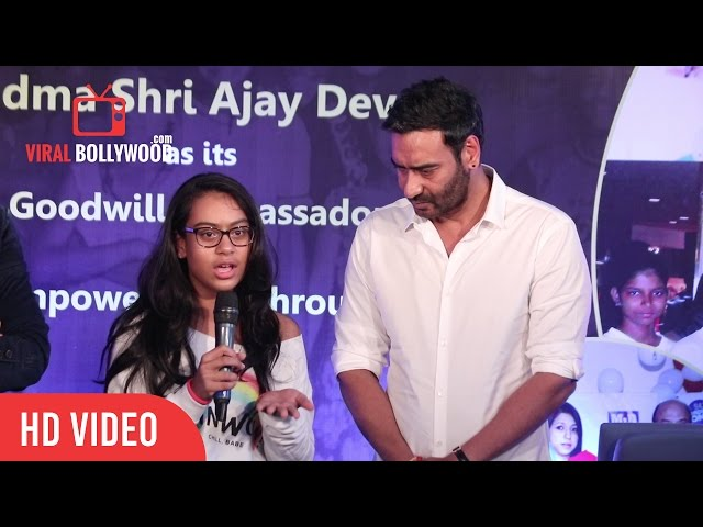 Nysa Devgan Full Speech | Smile Foundation New Campaign Launch