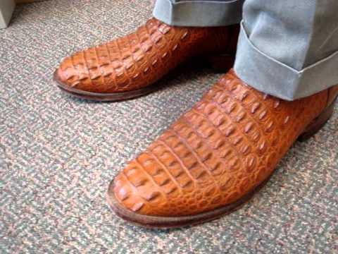 Cognac Nile Crocodile Boots Youtube