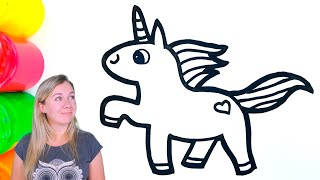 Unicorn Painting and Drawing for kids