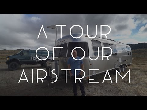 A Tour of our Airstream / Tiny House / Full-time RV - TMWE S02 E72