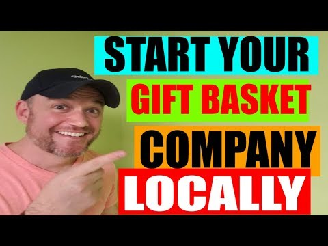 Gift Basket Business STartup [ Starting a Gift Baskets Business ]