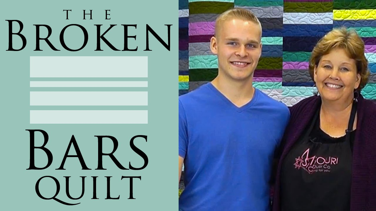 Make A Broken Bars Quilt With Jenny Doan Of Missouri Star