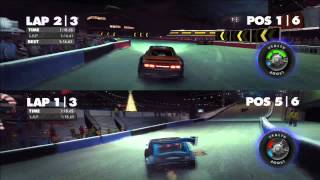 Dirt Showdown Splitscreen in Race off