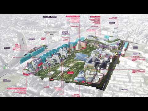 Sébastien Emery: eco district Clichy Batignolles in Paris