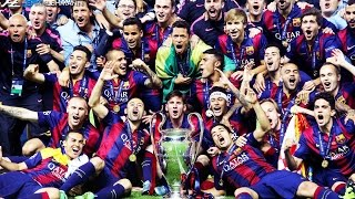 """Highlights of barcelona's historic treble winning season 2014-15. click """"show more"""" to see the music and more! ● edited produced by: henrik lehmann twitt..."""