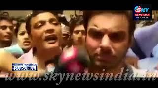 Salman khan Brother Sohail Khan Emotional After Salman 5 Years Jail = Sky News India