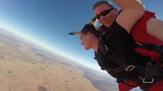 Another day...another free fall Skydive Uluru