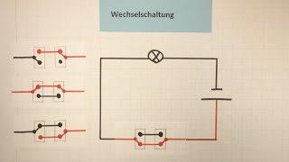Wechselschaltung - Elektrizität  | Physik | Lehrerschmidt