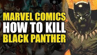 How To Un-Alive Black Panther