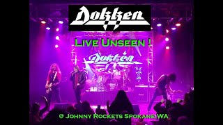 Dokken , Play 600 seat club exclusive show for JoeyG