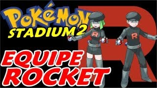 Pokemon Stadium 2 (Parte 21) - A Equipe Rocket Apelona