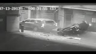 Texas police release video showing vehicle plunge to the ground from 7th floor of Austin parking