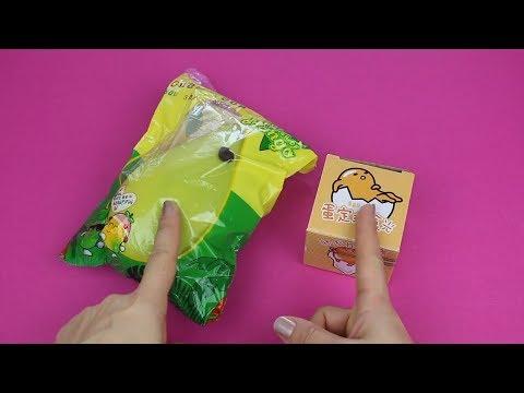 Slime Kusan Emoji ve Mango Squishy İnceliyoruz!! | Banggood Hediyelerim!! | Bidünya Oyuncak