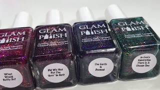 "Swatches || Glam Polish ""The Slayer"" Collection 