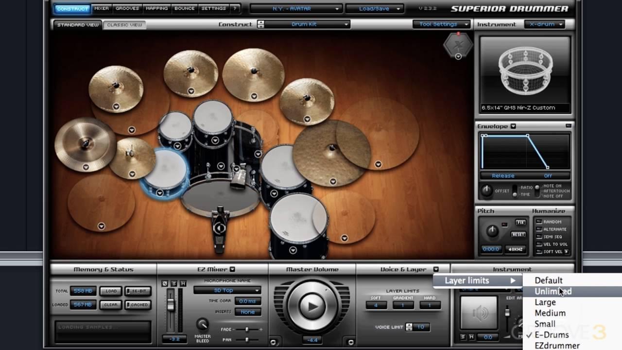 Ezdrummer & superior drummer 2. 0 comparison youtube.