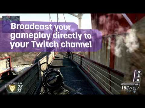 Twitch In-Game Broadcasting in Call of Duty: Black Ops II