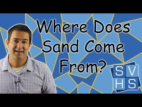 Where Does Sand Come From?