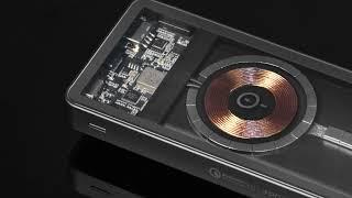 MOMAX首款兼容MagSafe透明無線充流動電源