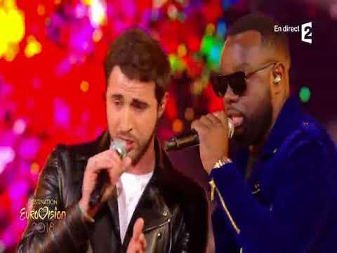 Destination Eurovision 2018 - Louka Et Maitre Gims   Cameleon