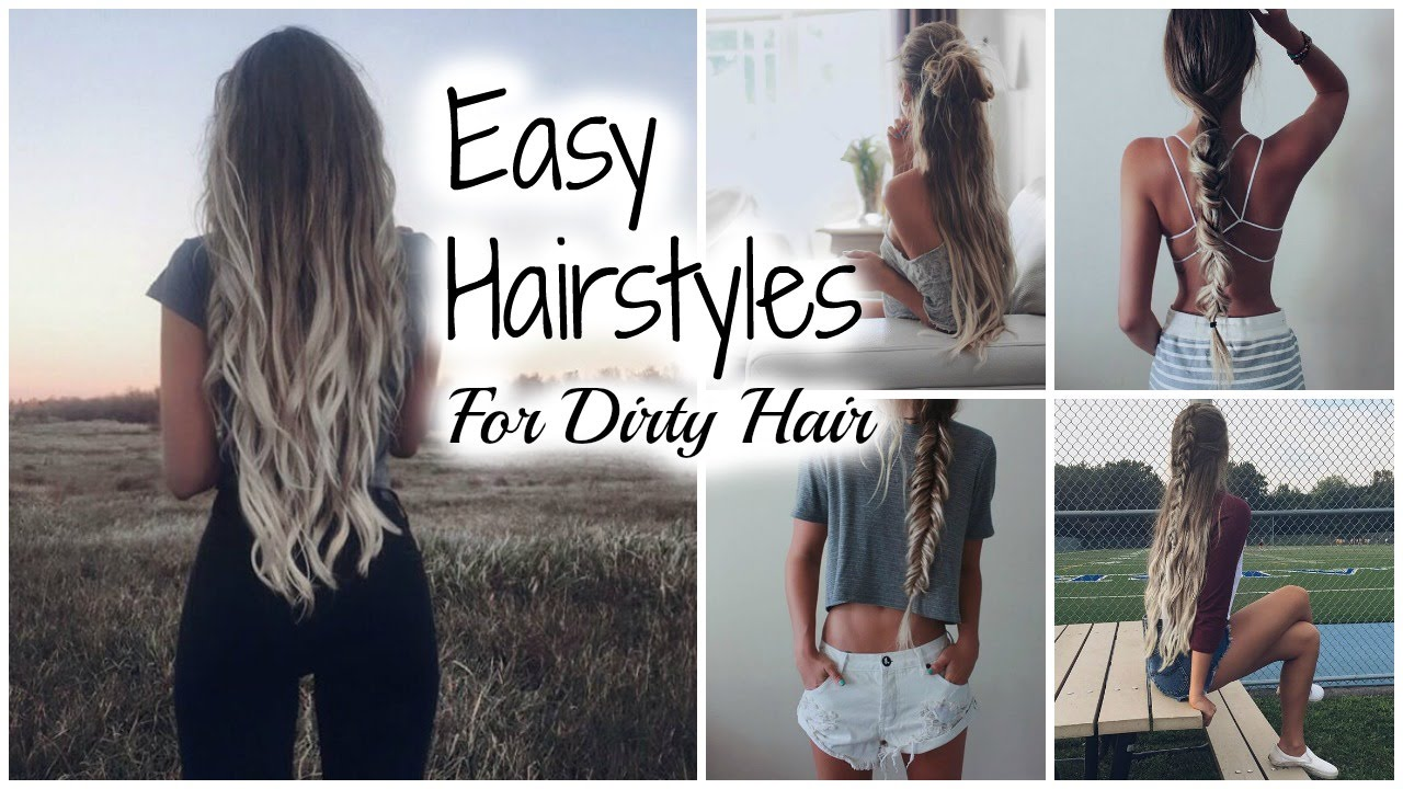 Second Day Curly Hairstyles Easy No Heat Hairstyles Second Day Hair Youtube
