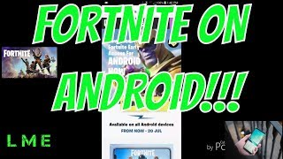 HOW TO DOWNLOAD FORTNITE MOBILE APK ON YOUR ANDROID DEVICE EASY