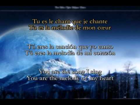 Tabitha Lemaire - Tu es le chant que je chante (lyrics + sub english + sub castellano)