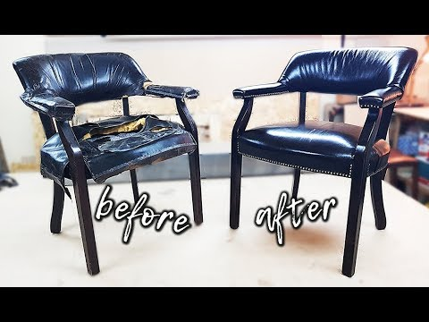 Видеоуроки реставрация мебели