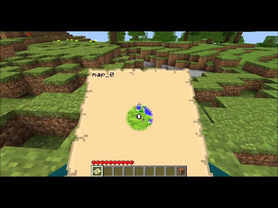 Populaire Minecraft Comment faire une carte - YouTube QX99