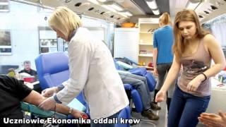 Uczniowie olsztyńskiego Ekonomika oddali krew