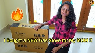 My New 4 Burner Gas Stove Unboxing...