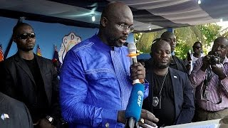 George Weah officially launches his presidential campaign