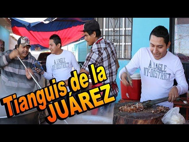 Probando CARNITAS de PUERCO en Tianguis de Reynosa