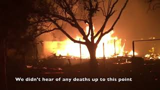 Firefighter perspective - Tubbs Fire Santa Rosa
