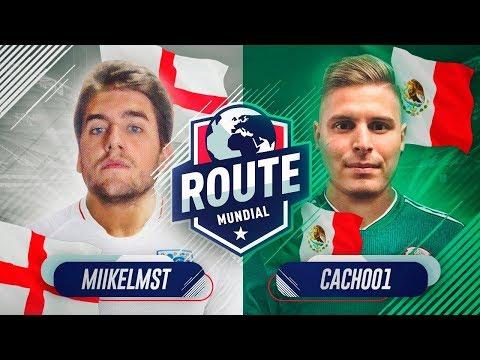 ROUTE MUNDIAL !!   MIIKELMST VS CACHO01   JORNADA 1