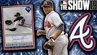 OFFENSIVE EXPLOSION IN 99 ANDRUW JONES DEBUT!! MLB the Show 19 Diamond Dynasty