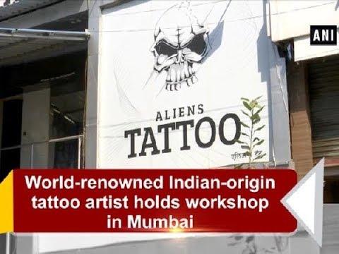 World-renowned Indian-origin tattoo artist holds workshop in Mumbai - Maharashtra News