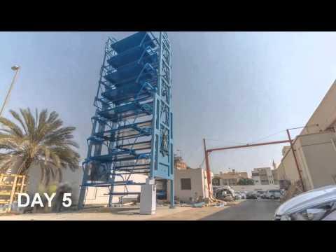 Как иностранцы паркуются. Роторная парковка (строится за 5 дней!!!)