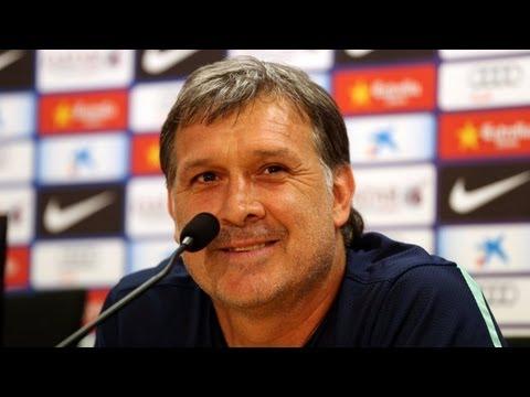 FC Barcelona - Complete Gerardo Martino's press conference 27/09/2013