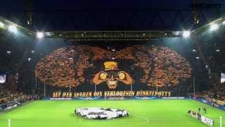 Borussia Dortmund - Malaga C.F. CHOREO Champions League