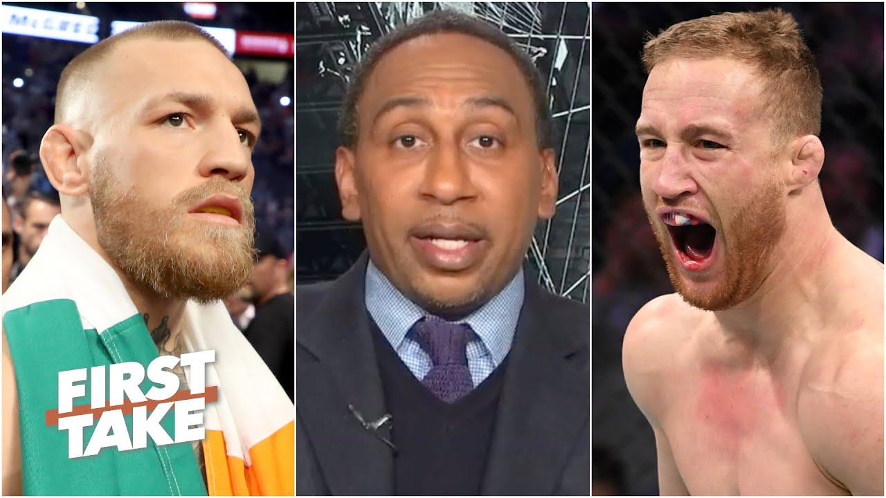 Stephen A. wants to see Justin Gaethje fight Conor McGregor | First Take