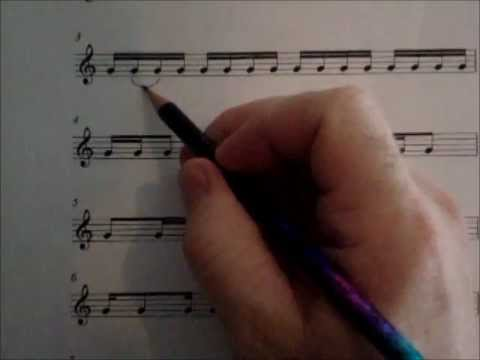 Counting Rhythms, Video 1A--The basics of simple time meter