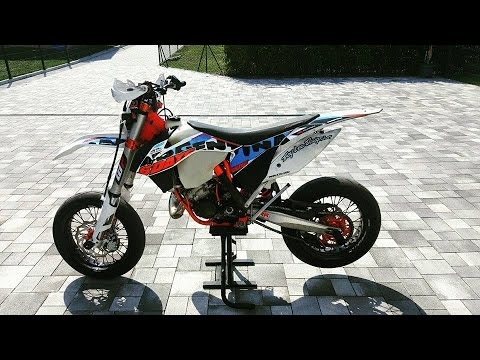 ktm exc 125 supermoto new crew bike youtube. Black Bedroom Furniture Sets. Home Design Ideas