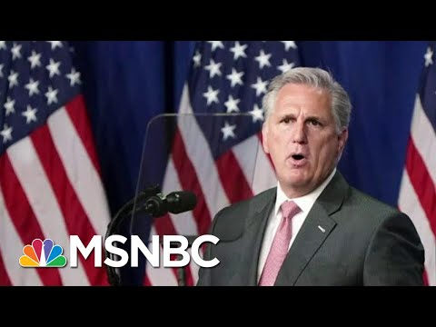 Rep. McCarthy Attempts To Walk A Line Inside House GOP | Morning Joe | MSNBC
