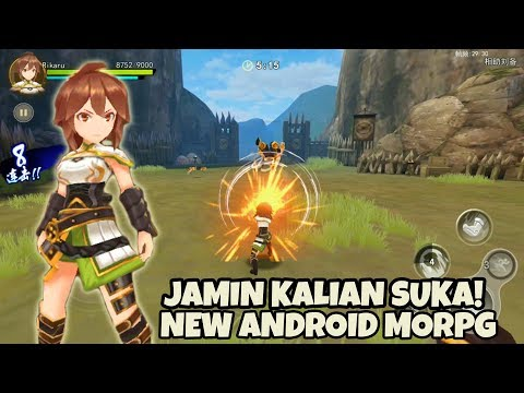 OMG RPG BARU!! KING's BATTLE Android Gameplay ( MMO RPG game ) - 동영상