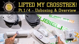 """I Lifted My Crosstrek! - Pt. 1/4 - Unboxing & Overview Of SubieLiftOZ - 5% Off """"StarDude05"""""""