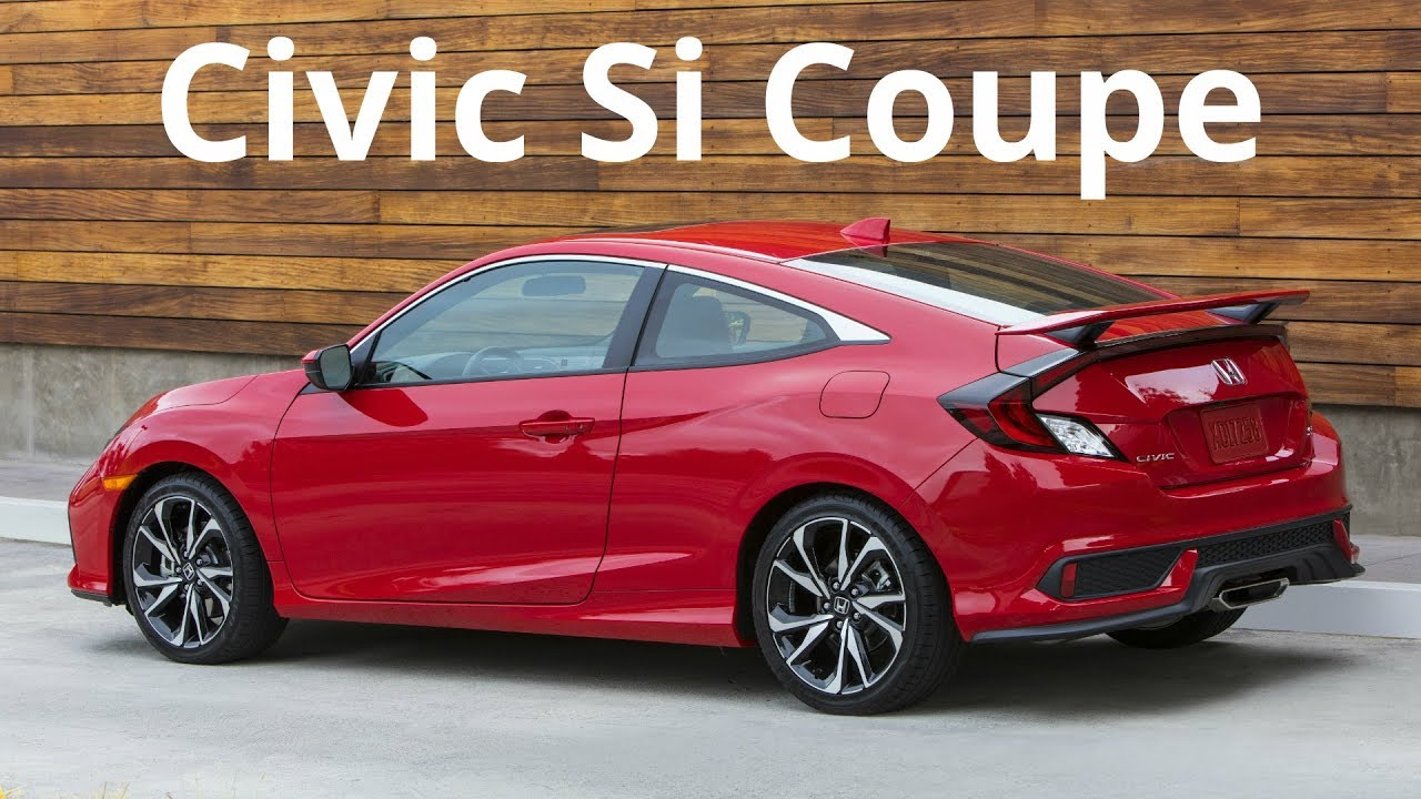 2017 Honda Civic Si Coupe New Driving Experience